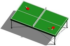 RevitCity.com | Object | Ping Pong Table