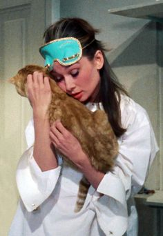 Audrey Hepburn as Holly Golightly in Breakfast at Tiffany's,