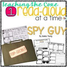 Spy Guy Read-Aloud Activity
