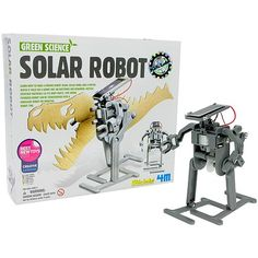 Solar Robot 4M Kit at xUmp.com