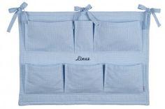 Lakrao großes Wandutensiolio in Blau personalisiert