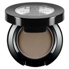 NYX Nude Matte Eyeshadow in Bare my soul, Taupe. Supposed to be similar to MAC omega/coquette