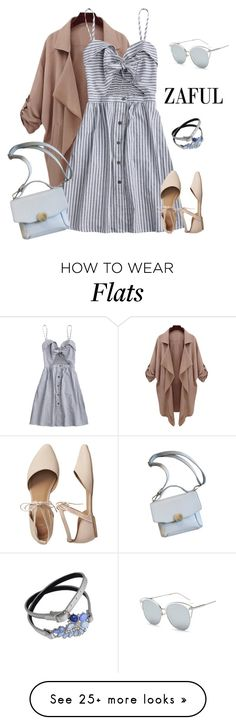 """ZAFUL dress 3"" by natalyag on Polyvore featuring Gap"