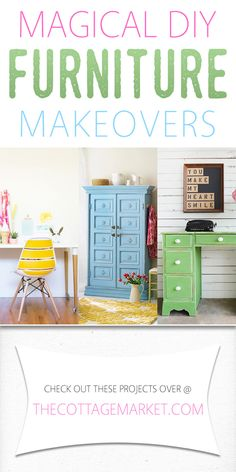 Magical DIY Furniture Makeovers - The Cottage Market