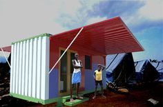 Clean Energy Container Home Concept