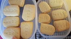 Ten commandments cookies for Awana Cubbies AppleSeed bear hug 19