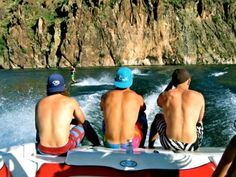Lake. Boys. Boats. Where the heck is summer?!?!