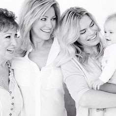 Nicolette van Dam wishes everybody a happy Mother's day @ http://www.pretapregnant.com/celebs/6714-nicolette-van-dam-wishes-everybody-a-happy-mothers-day #pretapregnant To celebrate this special day pregnant Nicolette van Dam shared this beauitiful picture of four generations. We love everything about this black and white portrait where we see Nicolette, Lola-Lily her beautiful mom and grandmother. She wrote: Happy Mother's Day! #4generations.