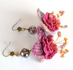 marmotescu rev crochet earrings