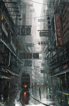 Creative Digital Illustrations by Wang Ling