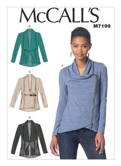 M7199 | McCall's Patterns Modcloth Airport Greeting Cardigan dupe!