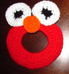 Elmo lens buddy pattern, free