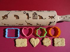 laura needs! Players cats & kittens pattern rolling pins and cookie cutter RollingPinsDesign http://www.amazon.com/dp/B00TOTX0OG/ref=cm_sw_r_pi_dp_Tlitwb0CSY0CT