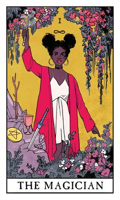 Modern Witch Tarot Deck by Lisa Sterle http://lisasterle.tumblr.com/post/171522472283/modern-witch-tarot-deck-q-a-will-there-be-a-full