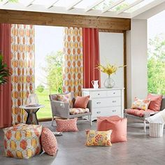 6 Enhancing Hacks: Rustic Floral Curtains simple curtains tips.Patterned Curtains Boho no sew curtains link. Patterned Curtains, Layered Curtains, Short Curtains, Elegant Curtains, Ikea Curtains, Yellow Curtains, Double Curtains, Vintage Curtains, Burlap Curtains