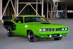 mopar cuda green interior | 1971 PLYMOUTH HEMI CUDA CUSTOM RE-CREATION