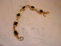 Vintage Kenneth J LaneTwo bracelets In One by frenchhen1 on Etsy, $18.00