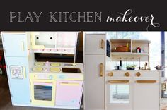 Attirant Glam Play Kitchen Makeover