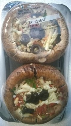 Pizza style Portabella Mushrooms, (2 count tray, 8 oz.),  Choice Farms LLC Recalls Very Limited Quantity of Mushrooms Stuffed with Cheese Supplied by a Third Party that may have the potential for Listeria monocytogenes Contamination