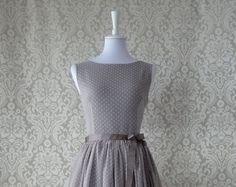 Entdecke lässige und festliche Kleider: L I S A Tupfenkleid made by JAME LILLY via DaWanda.com