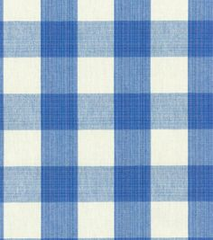 $20/yard   Upholstery Fabric-Williamsburg Stratford Check Blubell