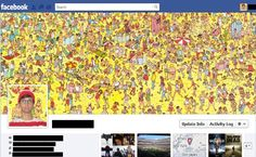 - Concept - Where's Waldo Facebook Humor, Funny Facebook Cover, Best Facebook, Facebook Profile, Facebook Timeline Covers, Facebook Likes, Facebook Quotes, Funny Images, Funny Pictures