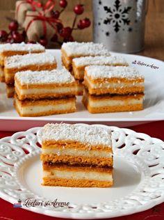 Prăjitură cu foi de bulion și cremă de griș. Prăjitura copilăriei. - Lecturi si Arome Best Pastry Recipe, Pastry Recipes, Top 15, Pastry Chef, French Toast, Deserts, Breakfast, Christmas Ideas, Food