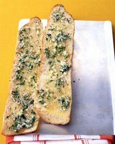Crisp Garlic Bread Recipe