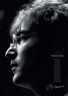 Imagine John Lennon Lyrics Music Poster *** More info could be found at the image url.(It is Amazon affiliate link) #likesreturned
