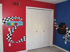 Image Detail for - Race Car Room uponawallmuralstudio.homestead.com