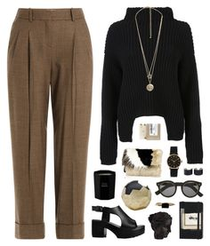 midtown by martosaur on Polyvore featuring Rick Owens, Michael Kors, River Island, Marc by Marc Jacobs, Forever 21, Maison Margiela, LUMO, Illesteva, L:A Bruket and Tom Daxon