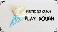 Melted Ice Cream Play Dough