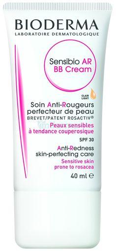 BIODERMA Sensibio AR BB cream Anti-redness tinted face moisturiser SPF The anti-redness care skin-perfecting and protective. For sensitive skin with redness. Bb Cream Reviews, Bioderma Sensibio, Cc Creme, Anti Redness, Skin Care Routine For 20s, Skin Routine, Perfume, Skin Care, Bb Creams