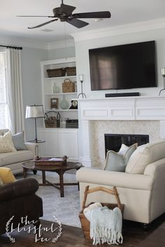 My Parent's Living Room Reveal | The Blissful Bee