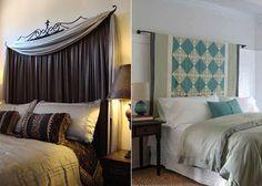 bett kopfteil kreative ideen schlafzimmer rustikaler look schlafzimmer pinterest - Do It Yourself Kopfteil Designs
