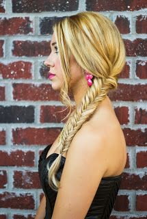 #fishtail #braid #updo