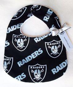 Oakland Raiders Print Bib