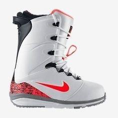 the best attitude b319e 12940 NEW Nike Lunarendor Snowboarding Pro Boots White Lava 586532-160 SZ 7.5   Clothing
