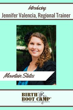 The amazing Jennifer Valencia is our instructor trainer for the Mountain States! If you're interested in becoming a childbirth educator, give her a call!