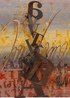 """Enrico Benetta, """"Afternoon""""     Mixed Media on Canvas, cm70x50"""