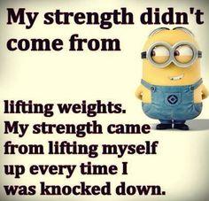 My strength.. MG