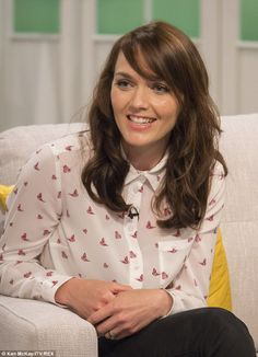 Victoria Pendleton pictured on Lorraine Live where she discussed her career