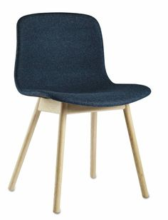 HAY About a chair AAC12 - blauw binnenzijde bekleed