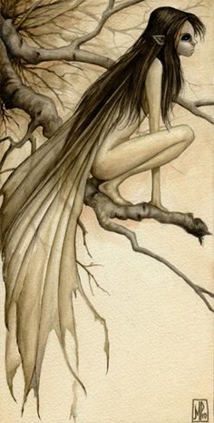 """The Birch Faery"" The Fantasy Art of Marc Potts"