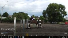 Sierra competing in the 3ft class Show Jumping Final, July 2017. VIDEO https://youtu.be/MUkVphZdiBs #loveirishhorses #horseforsale Email coopershillequine@gmail.com for more information
