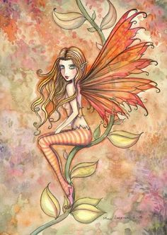 The Fairy Art and Fantasy Art of Molly Harrison: Autumn blazing Autumn Witch, Autumn Fairy, Fairy Pictures, Love Fairy, Fairytale Art, Beautiful Fairies, Fairy Art, Art Portfolio, Fantasy Art