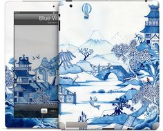 Blue Willow by Colin Thompson for iPad (2nd, 3rd, 4th Gen.)