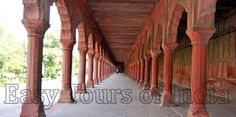 The Red Pillars Of The Audience Hall Inside Agra Fort, Agra, agra - Photo Gallery by Easy Tours of India Agra Fort, North India, Travel Information, Photo Galleries, Stairs, City, World, Gallery, Stairways