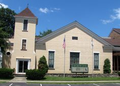 """First [Regular] Baptist Church, New Richmond, built in 1842. Its founding congregation avowed """"not to fellowship with those who sustained or countenanced"""" slavery."""