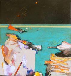 "Saatchi Art Artist William Kendall; Painting, ""Night Beach # 2"" #art"